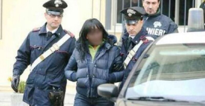 Teverola arrestata donna spaccio