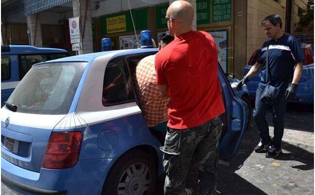 arresti castellammare di stabia furto