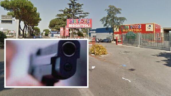 tentata rapina negozio giocattoli circumvallazione mugnano