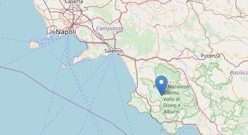 terremoto cilento stio 22 febbraio