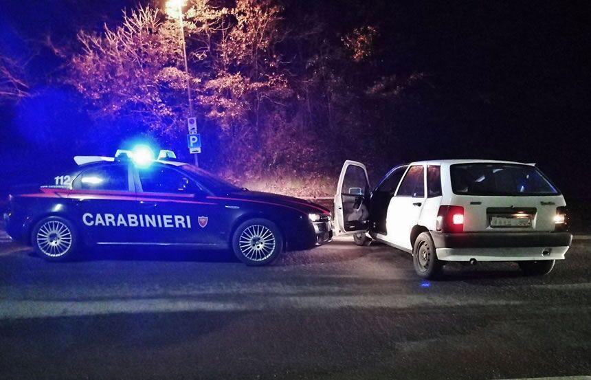 carabinieri casal di principe arresti ladri via bari