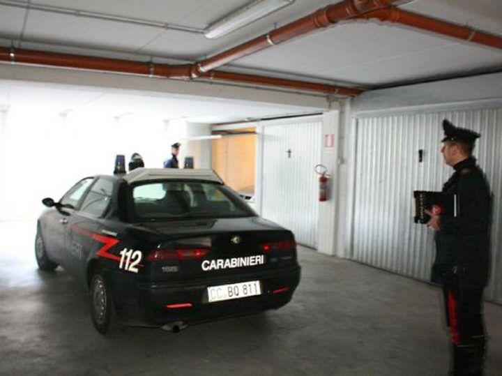 bacoli droga nel garage