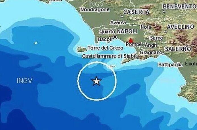ischia scossa di terremoto domenica delle palme
