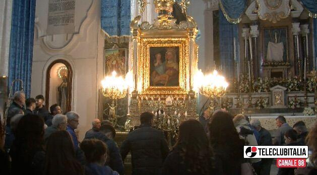 parete rientro sacra effigie maria santissima della rotonda