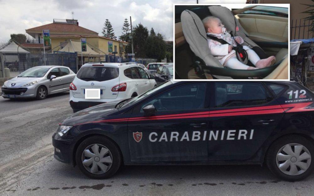 rapina qualiano nissa qasquai con neonata a bordo il racconto