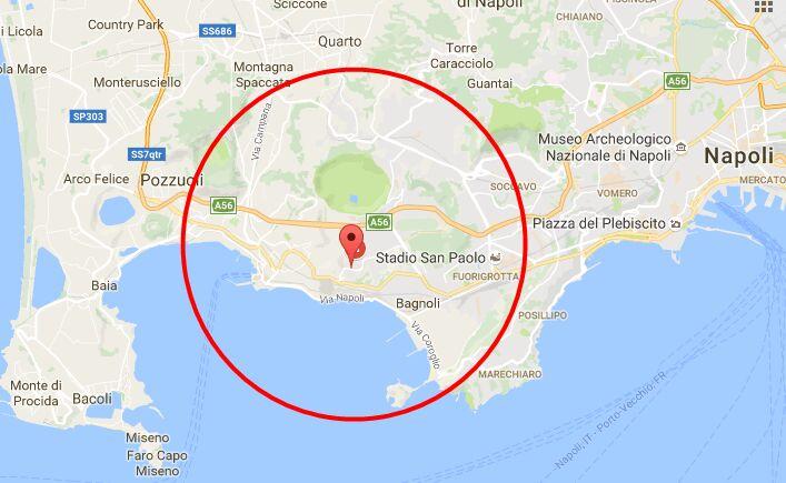 terremoto pozzuoli quarto bagnoli napoli 12 marzo