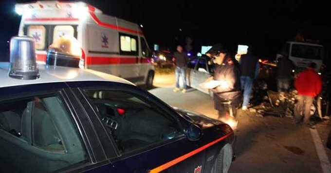 incidente mortale acerra strada provinciale maddaloni 5 aprile