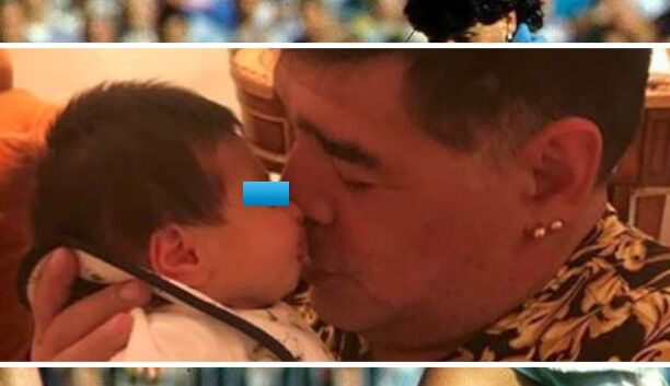 maradona diego matias amici maria de filippi nipote juventus napoli