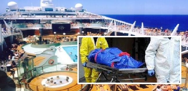 muore turista tedesco sulla nave nel porto di salerno