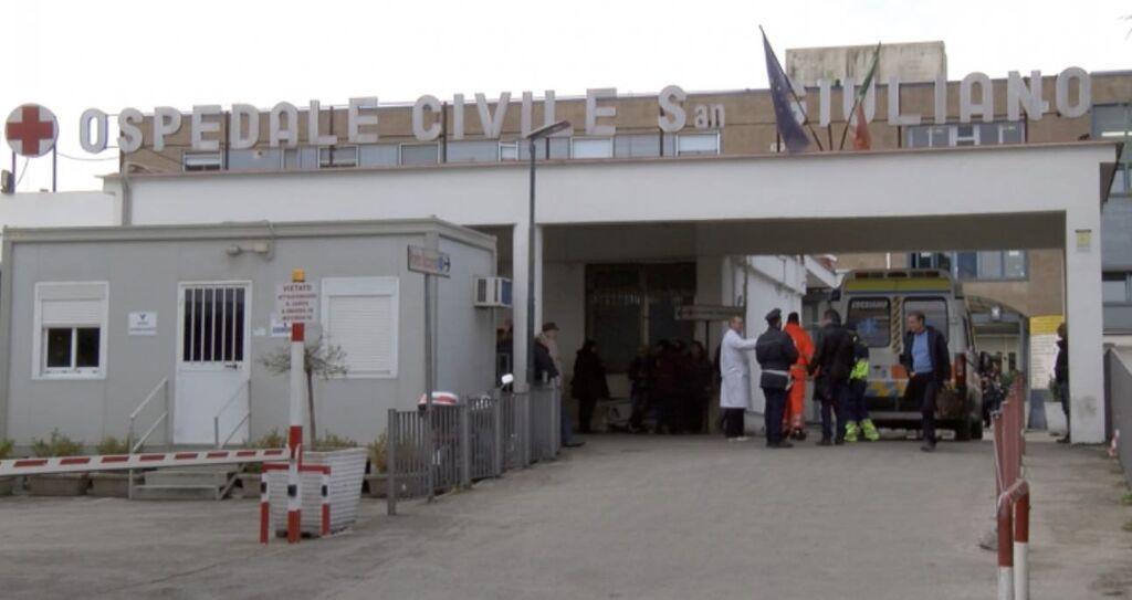 ospedale gaetano incidente mugnano