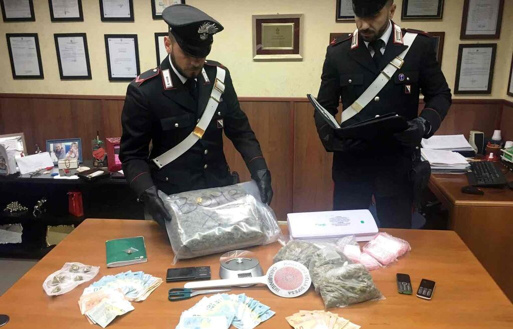 sequestro droga chiaiano mugnano napoli
