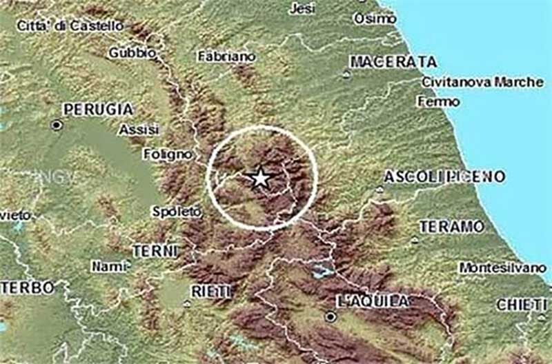 terremoto muccia macerata 12 aprile ingv