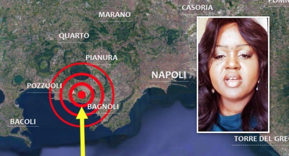 terremoto pozzuoli profezia fallita sparito video profetessa