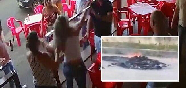 torre del greco, uomo minaccia moglie e le brucia i vestiti