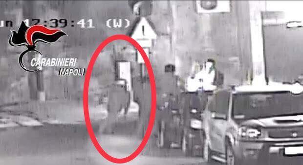 Rapina posillipo filo di banca arrestato egidio de martino