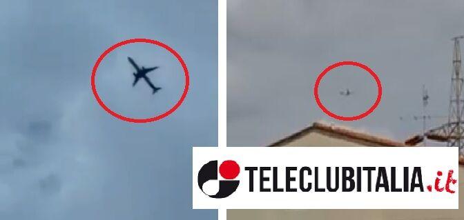 aereo misterioso vola su capodichino