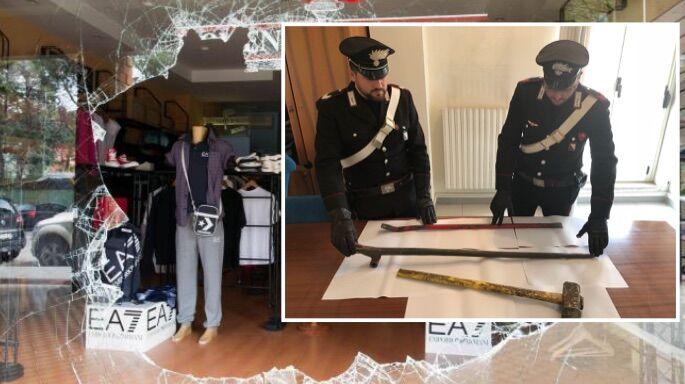 furto negozio qualiano carabinieri