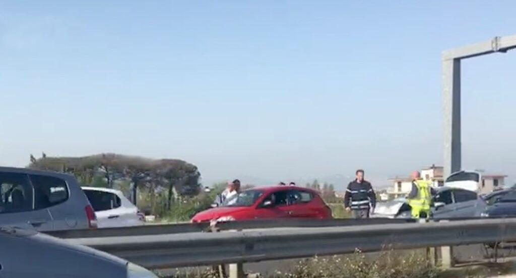 incidente asse mediano oggi
