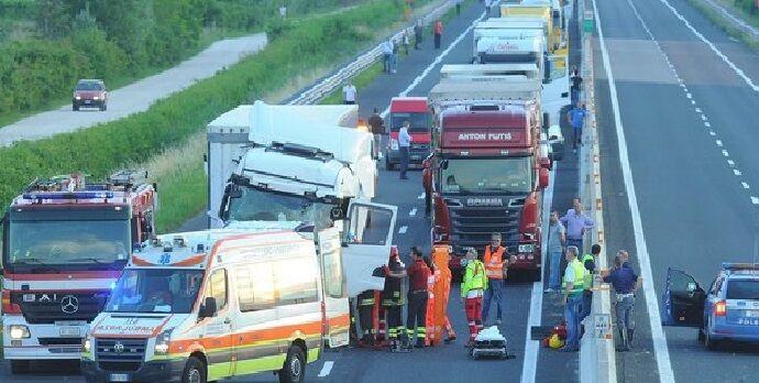 incidente sull'A1 morto