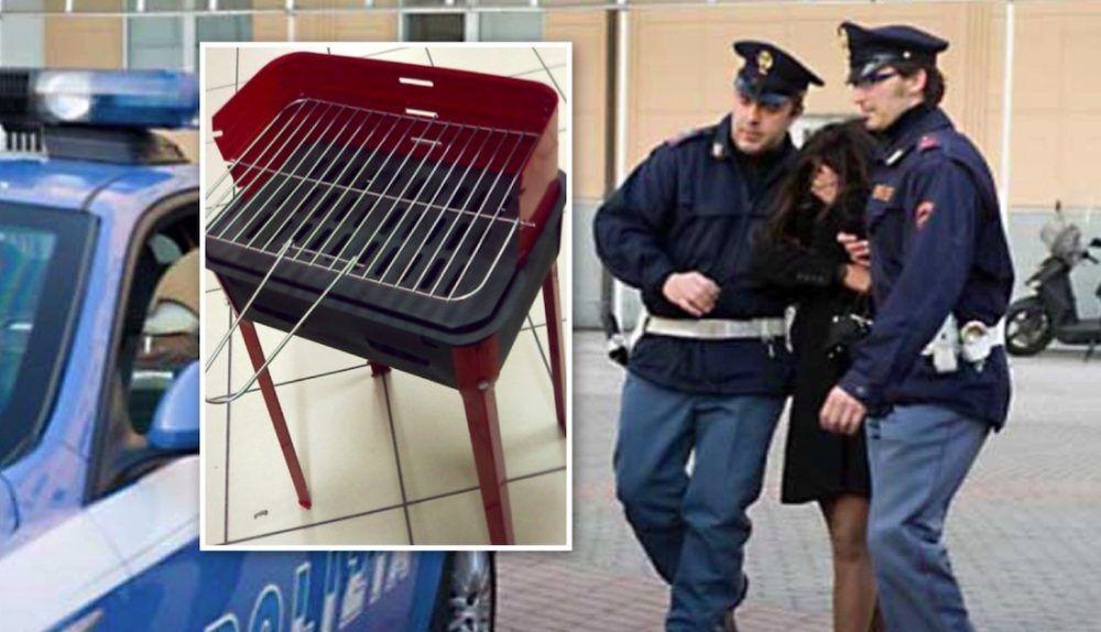 mariarosaria fildi arrestata torre del greco droga nella fornacella