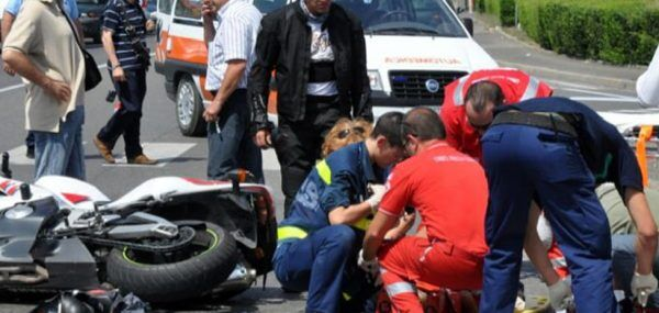 pagani incidente in scooter 28enne