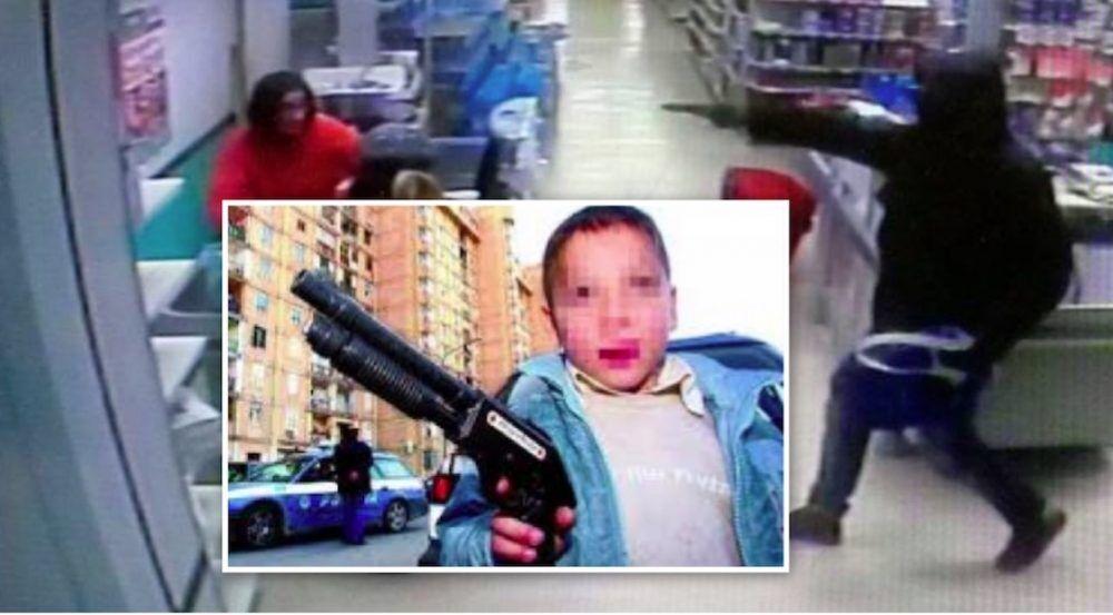 rapina vomero supermercato 12 anni