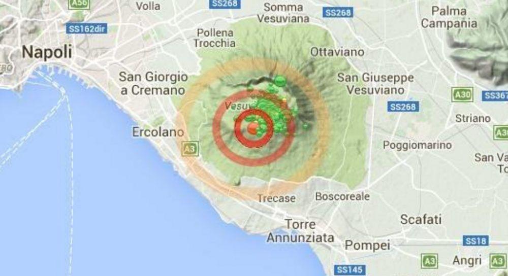 terremoto vesuvio 9 maggio