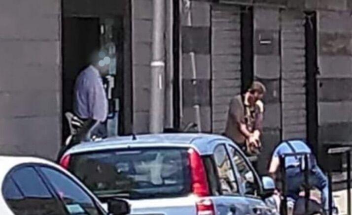 rapina casal di principe banca popolare di bari arresto