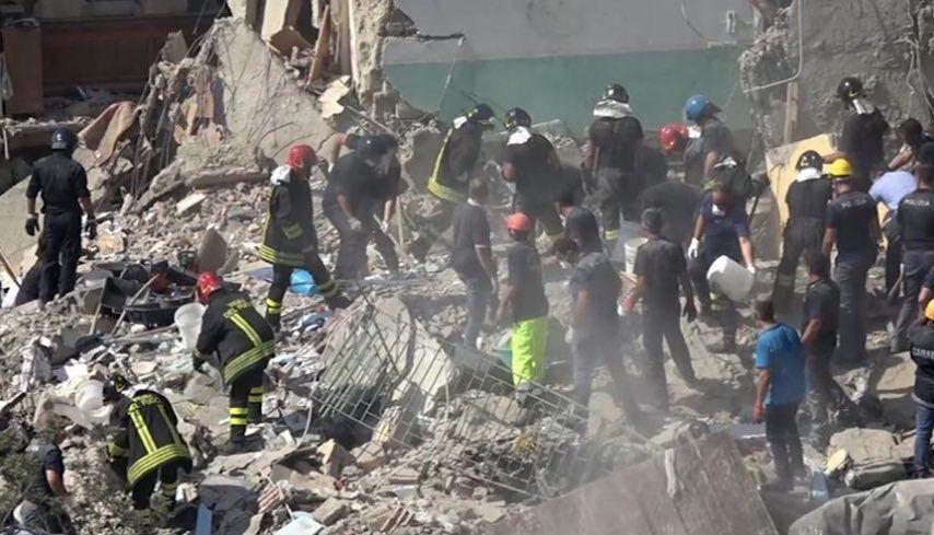 crollo torre annunziata 14 rinvii a giudizio