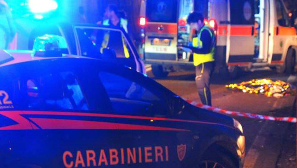 pagani investito ucciso uomo di nocera auto senza freno a mano
