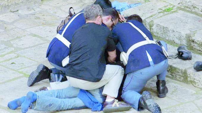 polizia arresto marcello manis secondigliano