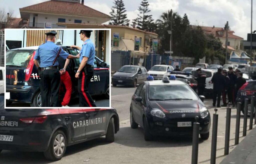 rapina auto bimba villaricca arrestati