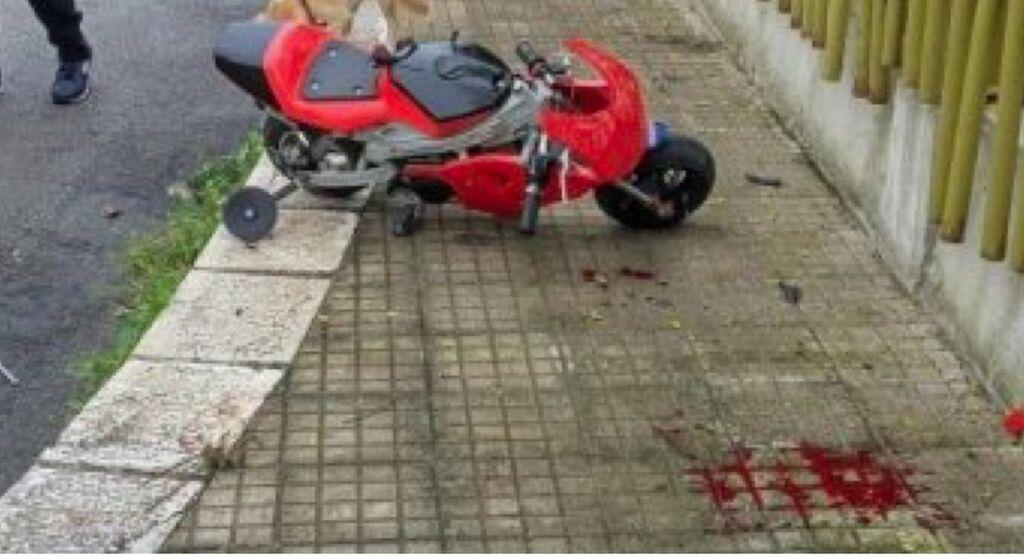 incidente minimoto martina franca
