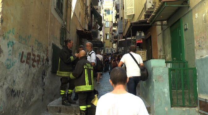 esplosione quartieri spagnoli 17 settembre morti