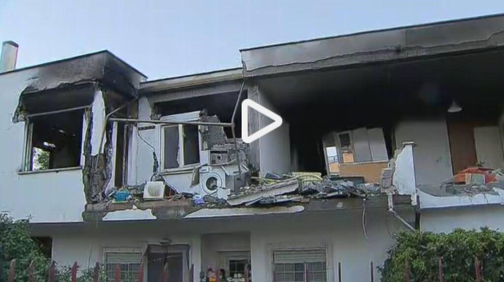 esplosione roma morto