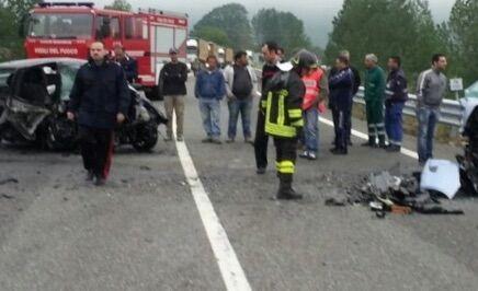 incidente ofantina morto 44enne di foggia