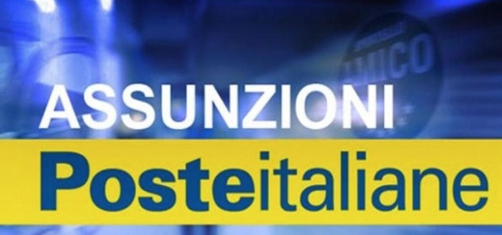 poste italiane assume portalettere