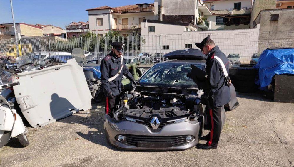 sequestro auto rubata casandrino