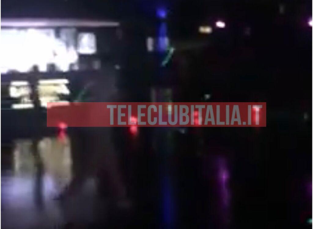 Ancona il video della fuga
