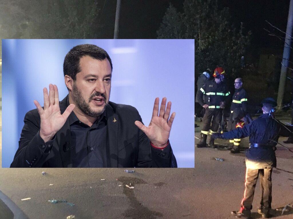 Strage di Ancona Salvini