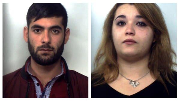 arrestati coppia spacciatori san gregorio di catania