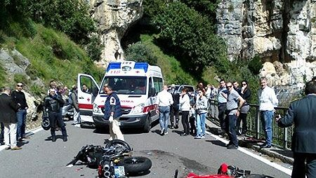 positano morto incidente tordigliano