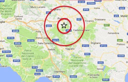 terremoto potenza matera 28 dicembre