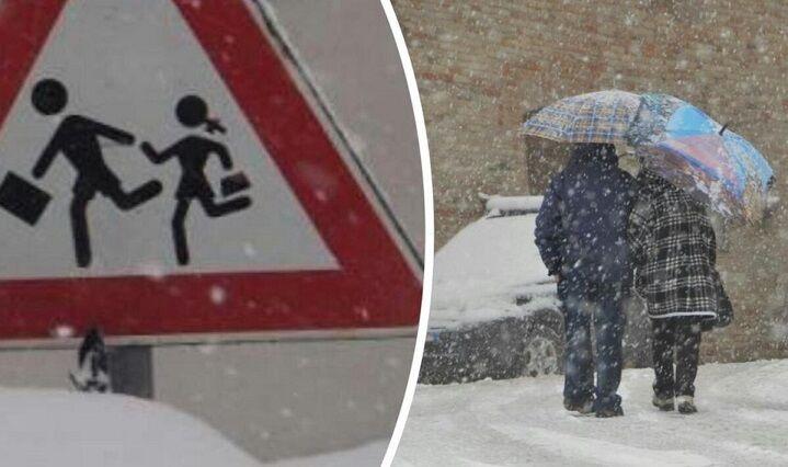 neve scuole chiuse 8 gennaio