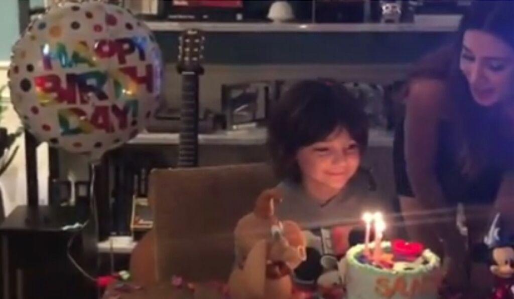 Video compleanno Santiago