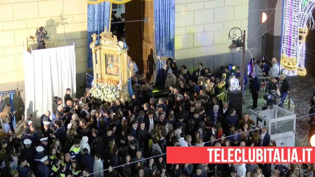 parete festa ottava maria santissima della rotonda