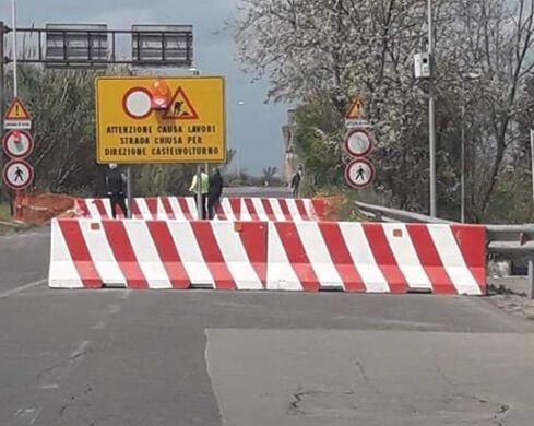 ponte lago patria ischitella chiuso