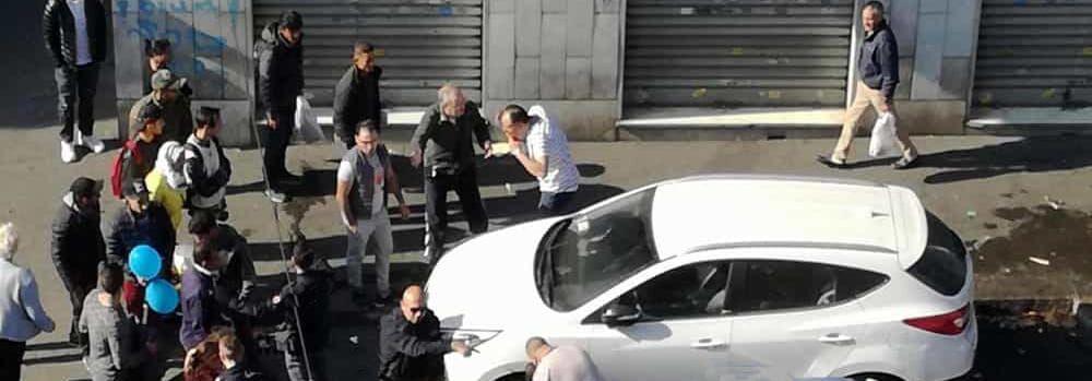 pozzuoli aggredisce passanti automobilisti arrestato