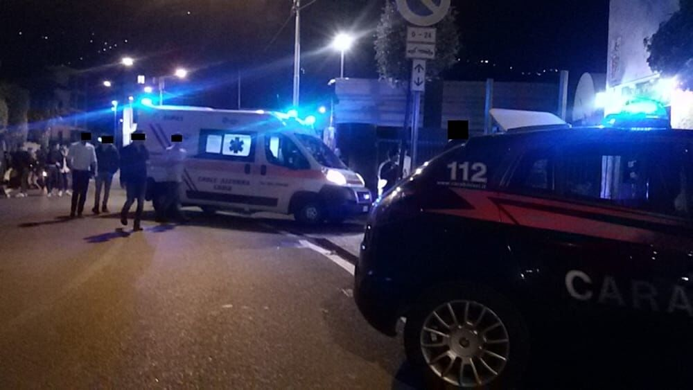 incidente via diocleaziano fuorigrotta napoli