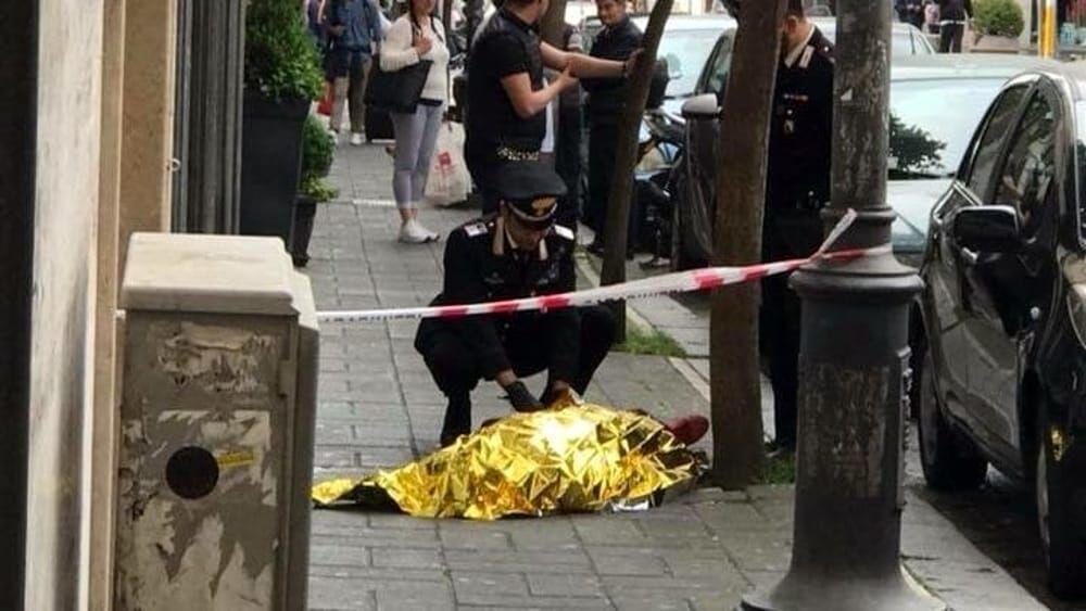 morto casoria in strada via bixio